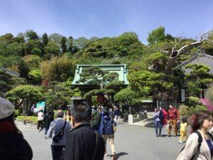 長谷寺入口手前