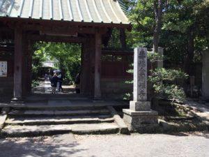 寿福寺入口