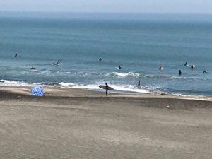 サーフィン練習?