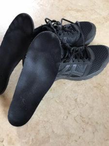 ウォーキングに履いている靴